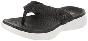 Skechers Women's On The Go 600 - Flat Feet Flip Flop sandals