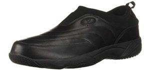 Propet Men's Wash n Wear - Washable Flat Feet Work Shoes