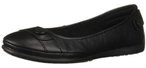 Skechers Women's Flattery - Comfortable Flat Dress Shoes for High Arches