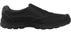 Skechers Men's Rayland - Comfortable Flat Dress Shoes for High Arches
