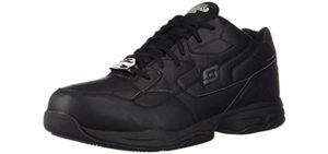 Skechers Men's Felton - Comfortable Flat feet Work Shoes