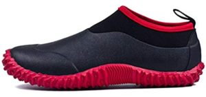 Tengta Men's Garden - Waterproof Gardening and Yard Work Shoes