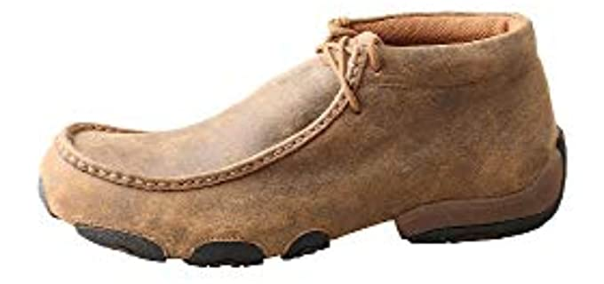 Twisted X Men's CXhukka - Driving Boot