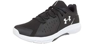 Under Armour Men's Charged Commit 2.0 - Cross Trainers for Flat Feet
