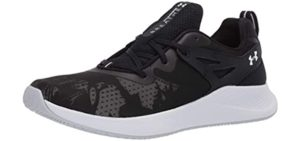 Under Armour Women's Charged Breathe 2.0 - Cross Trainers for Flat Feet