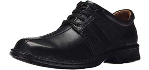 Clarks Men's Touareg Vibe - High Arch Dress Shoe