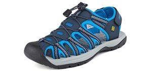 Dream Pairs Men's Adventurous - Sandals for Edema