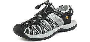 Dream Pairs Women's Adventurous - Sandals for Edema