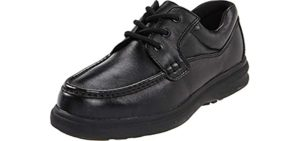 Hush Puppies Men's Gus - Oxford Shoe for Heel Spurs