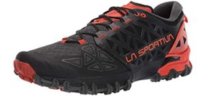 La Sportiva Men's Bushido - High Arch Trail Runners