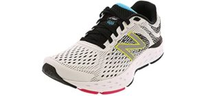 New Balance Women's 680V6 - Wide Fit and Roomy Toe Walking Shoe