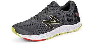 New Balance Men's 680V6 - Walking Shoe for Heavy Weights