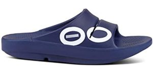 OOFOS Women's OOahh - Rocker Sole Slide Sandal