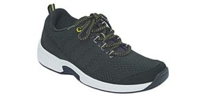Orthofeet Women's Coral - Overweight Walking Shoe