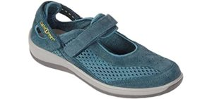 Orthofeet Women's Sanibel - Orthopedic Walking Shoes for Bad Knees