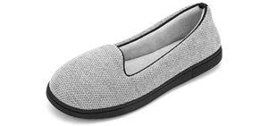 Rockdove Women's Chenille - High Arches Slippers