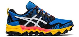 Asics Men's FujiTrabuco 8 GTX - Asics Waterproof Trail Running Shoes