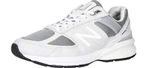 New Balance Men's M990V5 - Shoe for Knock Knees