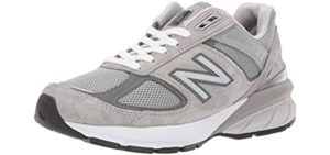 New Balance Women's W990v5 - Running Shoes with Wide Toe Box