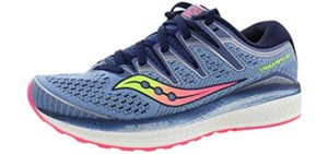 Saucony Women's ProGrid Triumph ISO 5 - Top Running Shoes for Supination