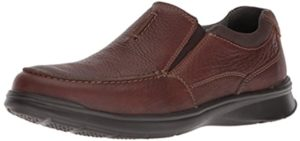 Clarks Men's Cortell - Wave Technology Casual Shoes for Hallux Rigidus