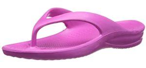 DAWGS Women's Ladies - Beach Arch Support Flip Flop