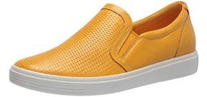ECCO Women's Classic - Moc Toe Driving dressy Shoe