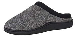 Hanes Men's Clog - Memory Foam Slippers