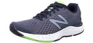 New Balance Men's 680V6 - Tarsal Tunnel Syndrome Walking Shoes