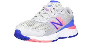New Balance Girl's 680V6 - Running Shoe for Kids
