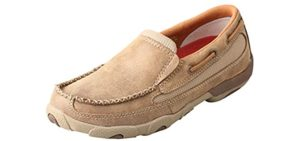 Twisted X Women's Slip On - Moccasin Shoes for Driving