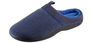 Isotoner Men's Open Back - Memory Foam Slippers