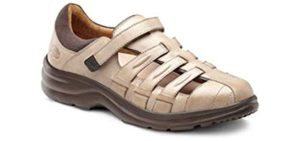 Dr. Comfort Women's Breeze - Extra Depth Orthopedic Sandal