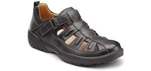 Dr. Comfort Men's Fisherman - Extra Depth Orthopedic Sandal