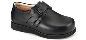 Apis Women's Emey - Work Shoes for Burning Feet