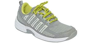 Orthofeet Women's Coral - Charcot Foot Walking Sneaker