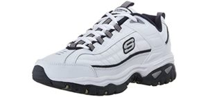 Skechers Men's Afterburn - Leather Walking Shoes