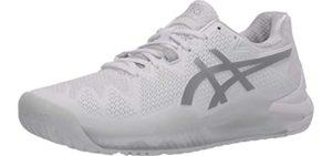 Asics Men's Gel Resolution 8 - Plantar Fascitis Running Shoes
