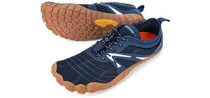 Aleader Men's Trail - Minimalist Trail Running Shoe