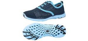 Aleader Women's Poseidon - Water Walking Summer Shoes