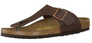 Birkenstock Men's Gizeh - Comfortable Toe Separating Sandal