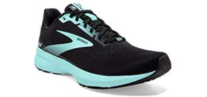 Brooks Women's Launch 8 - Walking and Running Shoe for High Arches