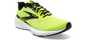 Brooks Men's Launch 8 - Walking and Running Shoe for the Treadmill