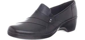 Clarks Women's Marigold - Slip-On Traveler Walking Shoes