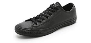 All Star Converse Men's Chuck Taylor - Leather Athletic Dress Sneaker