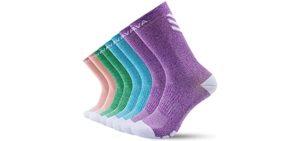 Donava Women's Dry-Tech - Socks for Diabetes