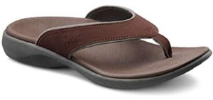 Dr. Comfort Men's Collin - Orthopedic Slide Sandals