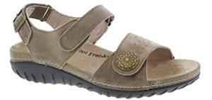 Drew Shoe Women's Workaround - Sandals that Hide Bunions