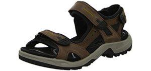 ECCO Men's Yucatan - Comfortable Sporty Sandal