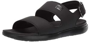 FitFlop Men's Lido - Slide on Flat Feet Sandals